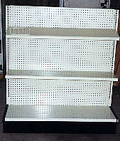 used store fixtures,C & E Used Store Fixtures,lozier,streater,madix,gondolas,wall units,endcaps,used pharmacy fixtures,shelves,Lozier,used lozier